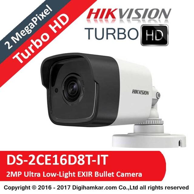 دوربین مداربسته TurboHD بولت هایک ویژن مدل DS-2CE16D8T-IT