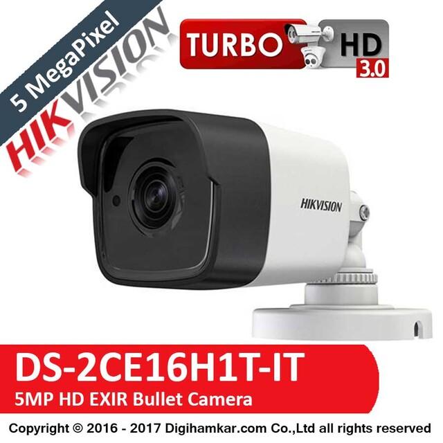 دوربین مداربسته TurboHD بولت هایک ویژن مدل DS-2CE16H1T-IT
