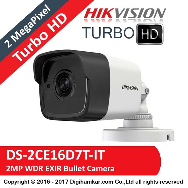 دوربين مداربسته TurboHD بولت هايک ويژن مدل DS-2CE16D7T-IT