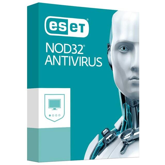 آنتی ويروس نود 32 NOD32 ANTIVIRUS دو کاربره يک ساله