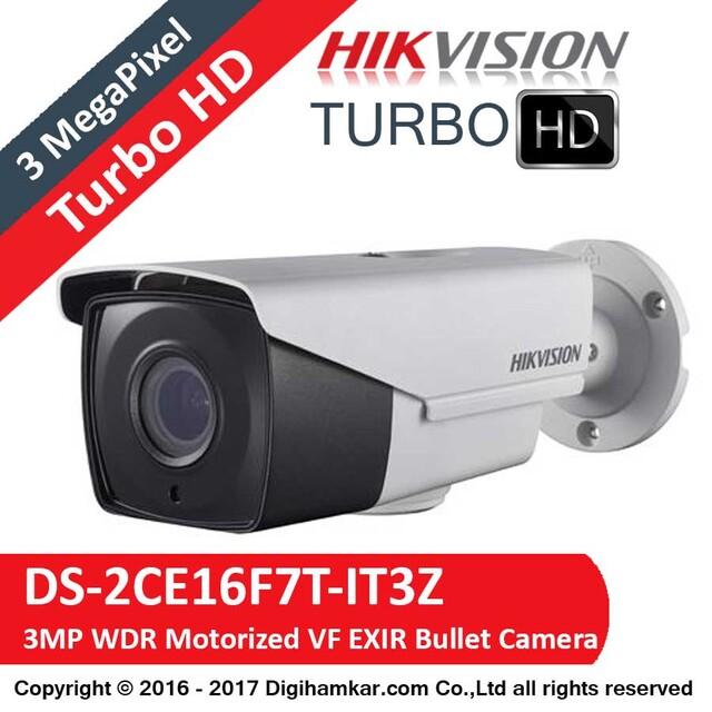 دوربین مداربسته TurboHD بولت هایک ویژن مدل DS-2CE16F7T-IT3Z