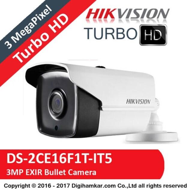 دوربین مداربسته TurboHD بولت هایک ویژن مدل DS-2CE16F1T-IT5