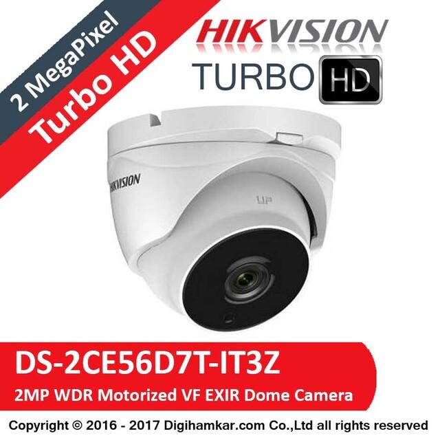 دوربين مداربسته TurboHD دام موتورایز هايک ويژن مدل DS-2CE56D7T-IT3Z