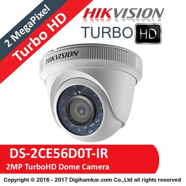 دوربین مداربسته TurboHD دام هایک ویژن مدل DS-2CE56D0T-IR
