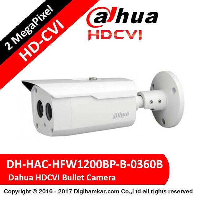 دوربین مداربسته بولت داهوا HD-CVI مدل DH-HAC-HFW1200BP
