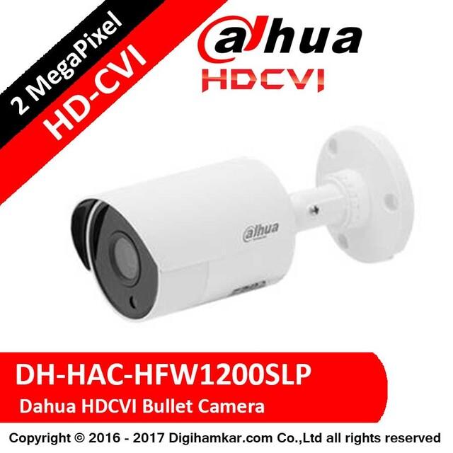 دوربین مداربسته بولت داهوا HD-CVI مدل DH-HAC-HFW1200SLP