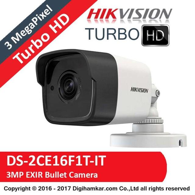 دوربین مداربسته TurboHD بولت هایک ویژن مدل DS-2CE16F1T-IT