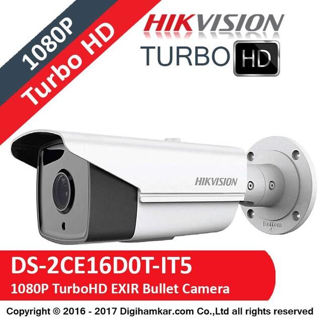 دوربین مداربسته TurboHD بولت هایک ویژن مدل DS-2CE16D0T-IT5