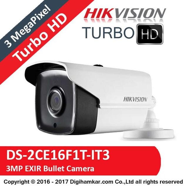 دوربین مداربسته TurboHD بولت هایک ویژن مدل DS-2CE16F1T-IT3