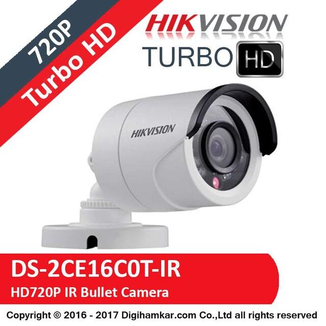 دوربين مداربسته TurboHD بولت هايک ويژن مدل DS-2CE16C0T-IR