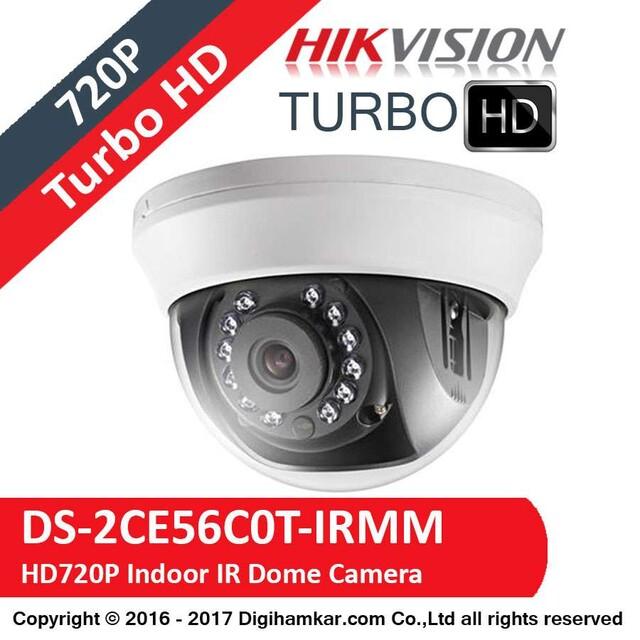 دوربين مداربسته TurboHD دام هايک ويژن مدل DS-2CE56C0T-IRMM