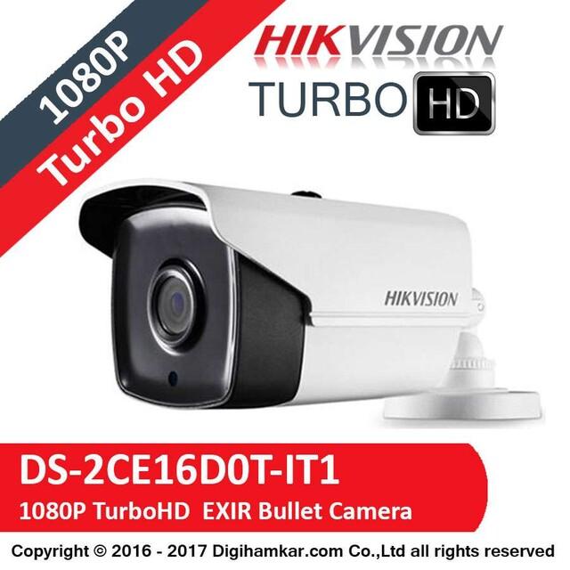 دوربین مداربسته TurboHD بولت هایک ویژن مدل DS-2CE16D0T-IT1