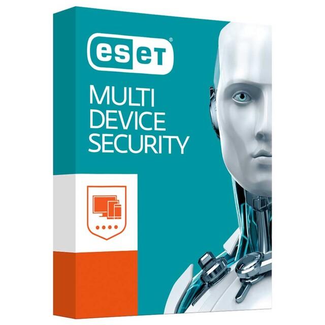 ایست اینترنت سکیوریتی مولتی دیوایس ESET Multi-Device Security دو کاربره يک ساله