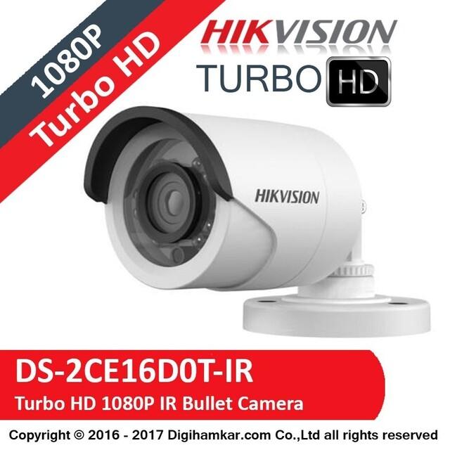 دوربین مداربسته TurboHD بولت هایک ویژن مدل DS-2CE16D0T-IR