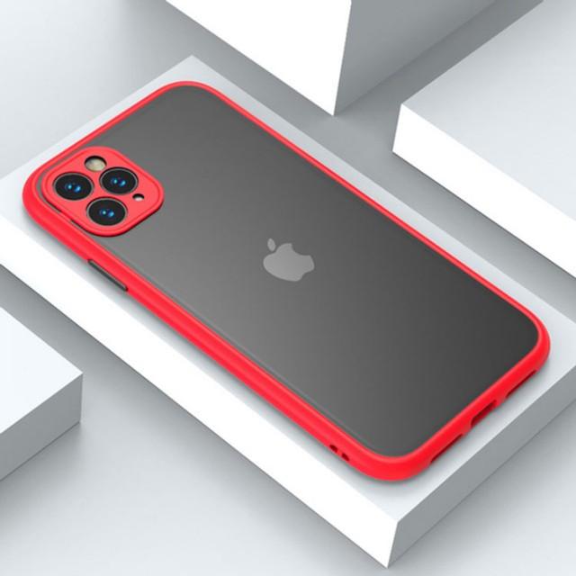 قاب پشت مات محافظ لنزدار  آیفون iPhone 12 Pro
