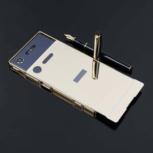 Mirror Glass Case for Sony Xperia X Compact (4)