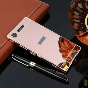 Mirror Glass Case for Sony Xperia X Compact (2)