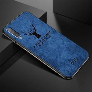 Cloth Texture Deer Case For Samsung Galaxy A70 (2)
