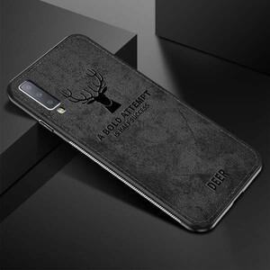 Cloth Texture Deer Case For Samsung Galaxy A70 (3)
