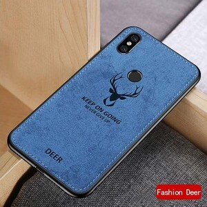 Cloth Texture Deer Case For Samsung Galaxy A20-A30 (2)