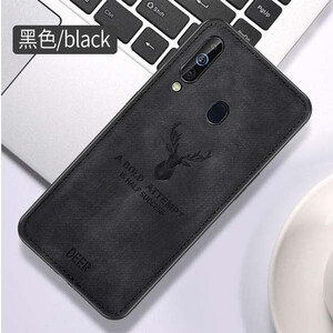 Cloth Texture Deer Case For Samsung Galaxy A20s (2)