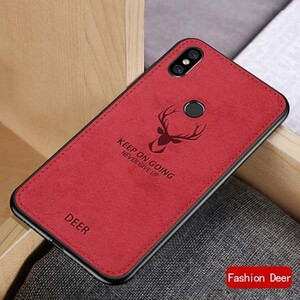 Cloth Texture Deer Case For Samsung Galaxy A10s (1)