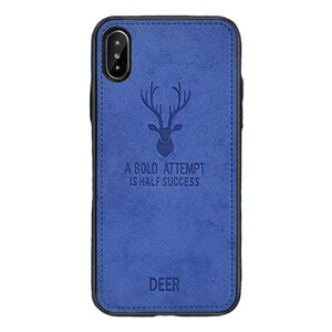 Cloth Texture Deer Case For Samsung Galaxy M10 (3)