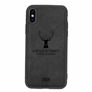 Cloth Texture Deer Case For Samsung Galaxy M10 (2)