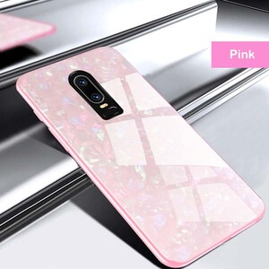 Fashion Marble Glass Case For Huawei Mate 10 Lite (2)