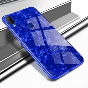 Fashion Marble Glass Case For Huawei Y9 2019 (3)
