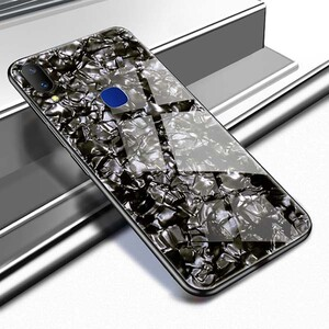 Fashion Marble Glass Case For Huawei Y7 2019 (4)