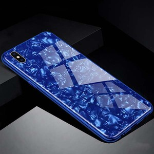 Fashion Marble Glass Case For Huawei Honor 8A Pro (2)