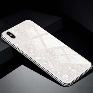 Fashion Marble Glass Case For Huawei Honor 8A Pro (4)