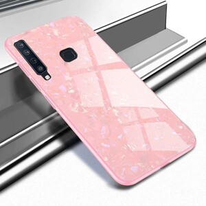 Fashion Marble Glass Case For Samsung Galaxy A9 2018 (2)