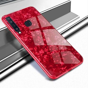 Fashion Marble Glass Case For Samsung Galaxy A9 2018 (1)