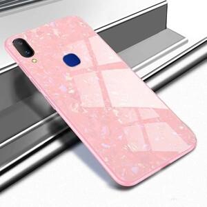 Fashion Marble Glass Case For Samsung Galaxy A60 (2)