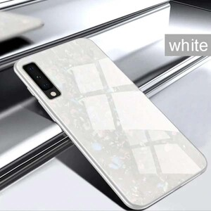 Fashion Marble Glass Case For Samsung Galaxy A20s (3)