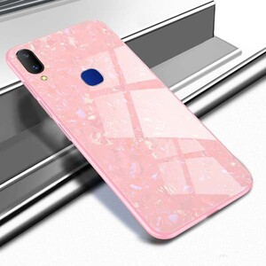 Fashion Marble Glass Case For Samsung Galaxy A20 (2)