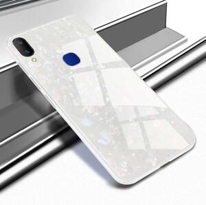 Fashion Marble Glass Case For Samsung Galaxy M20 (5)