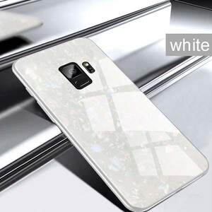 Fashion Marble Glass Case For Samsung Galaxy S9 (5)