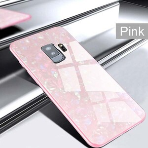 Fashion Marble Glass Case For Samsung Galaxy S9 Plus (2)