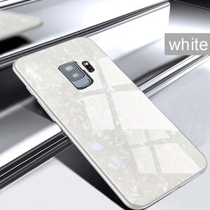 Fashion Marble Glass Case For Samsung Galaxy S9 Plus (5)