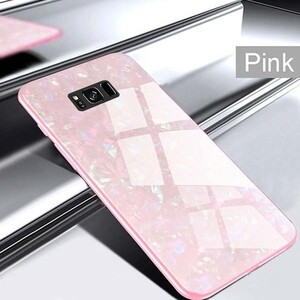 Fashion Marble Glass Case For Samsung Galaxy S8 Plus (2)