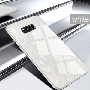Fashion Marble Glass Case For Samsung Galaxy S8 (5)