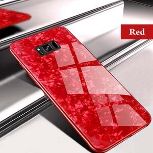 Fashion Marble Glass Case For Samsung Galaxy S7 Edge (1)