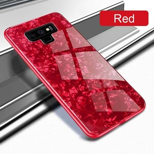 Fashion Marble Glass Case For Samsung Galaxy Note 9 (1)