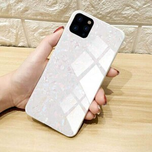 Fashion Marble Glass Case For Apple iPhone 11 Pro (3)