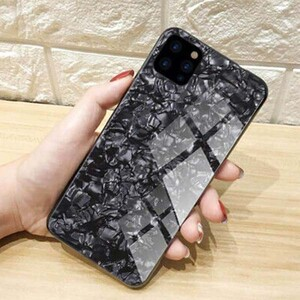 Fashion Marble Glass Case For Apple iPhone 11 Pro (4)