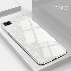 Fashion Marble Glass Case For Apple iPhone 78 Plus (3)