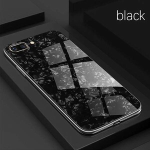 Fashion Marble Glass Case For Apple iPhone 78 Plus (4)